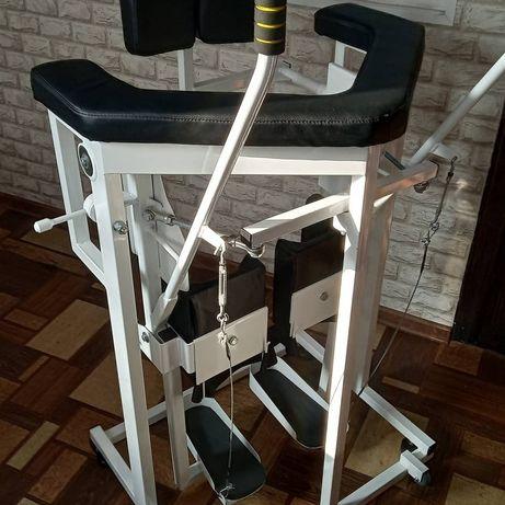 Имитатор ходьбы тренажер для инвалидов шагоход  вертикализатор имитрон