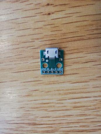 Mufa Micro USB 5pini mama (Kit reparatie rapid)