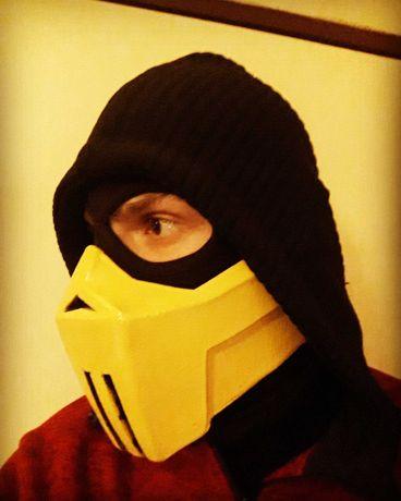 Scorpion Mortal Kombat  Mask / маска скорпион/