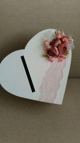 Кутия за пари и пожелания за сватба