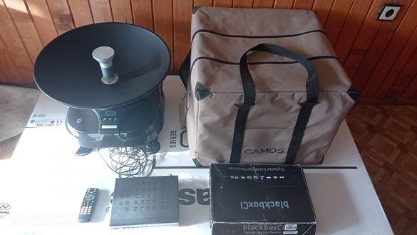 Полуавтоматична сателитна антена Camos