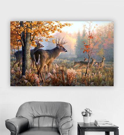 Tablou Pânză Canvas Tematică Vânătoare 70x50 cm