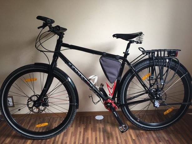 touring expedition Pinion P1.18 ( carbon drive , gates )