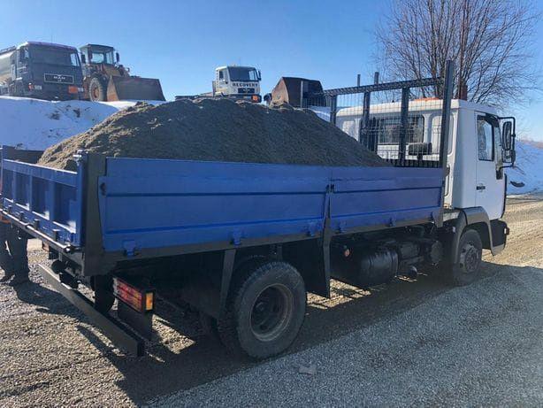 6-7mc=480 lei oferta Transport nisip balastru