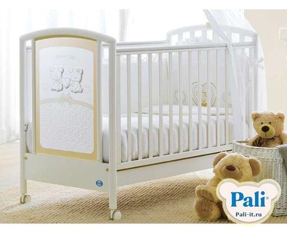 Детская итальянская кроватка из массивного бука Pali Smart Maison Bebe