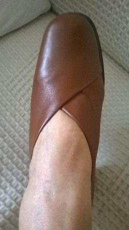 Pantofi piele naturala nr.38 NOI