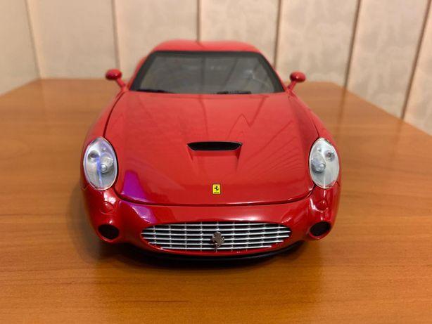 Macheta auto Ferrari 575 GTZ Zagato, 1/18, HotWheels