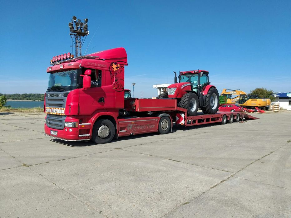Transport Utilaje// Tractari Camioane 24/24 TRANSPORT AGABARITIC Galati - imagine 1