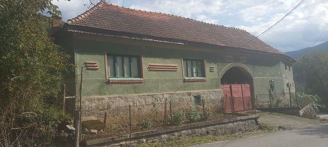 Vand casa cu teren 1 h si 10 ari, în Aciuta, comuna Plescuta.