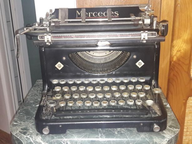 masina-de-scris TYP MERCEDES ORIGINAL-ani-1920-30-vechi-antik-vintage
