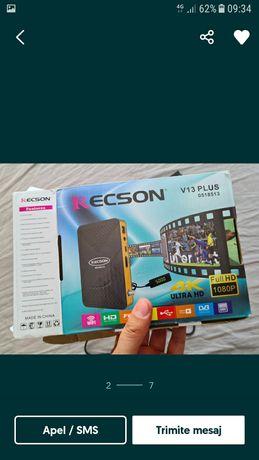 Vând receptor /receiver satelit/decodor Recson V13 Plus 4k