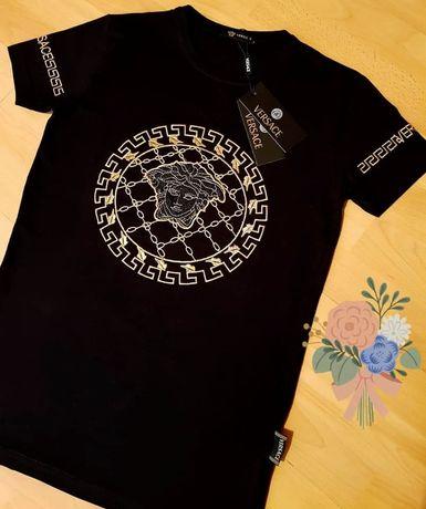 Tricouri  Versace logo brodat /diverse mărimi
