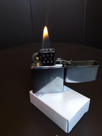 Запалка зипо на газ. Zippo BLU gas butane Газово зипо