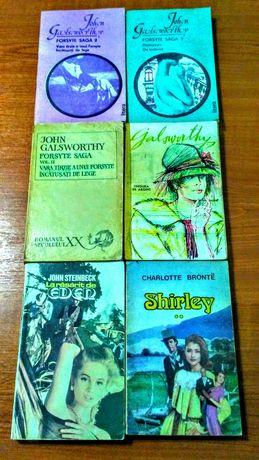 Galsworthy*Steinbeck*Bronte
