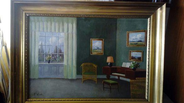 Продавам старинна картина.