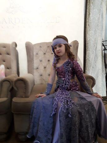 Продам концертное платье для восточных танцев