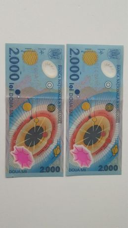 Bancnote 2000 lei