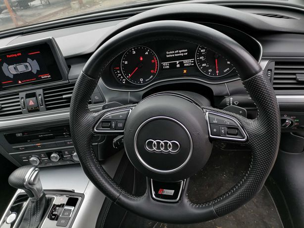 Volan S-Line CU AIRBAG Ca Nou Audi A6 4G , Audi A7 cu padele