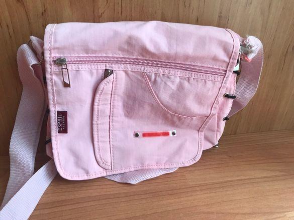 Розова чанта Esprit за през рамо