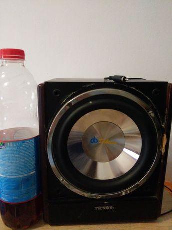 Subwoofer woofer pasiv boxa bas 8 ohm sistem audio home cinema auto