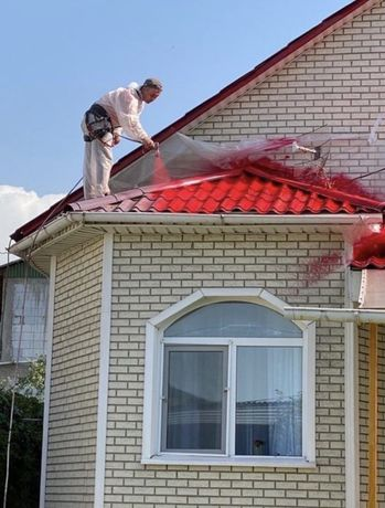 Покраска крыш