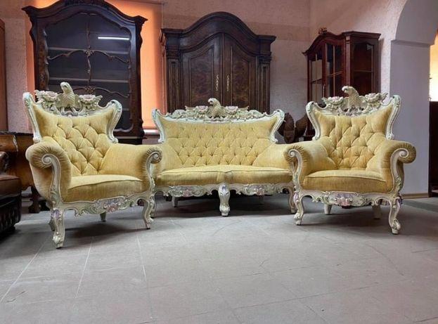 Диван и два кресла эксклюзивный