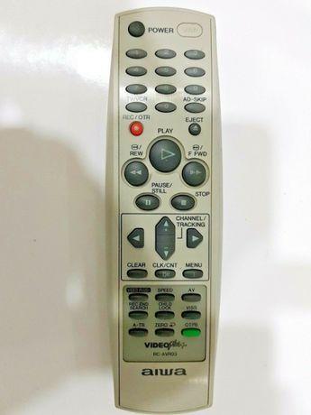 Истинско оригинално Aiwa Rc-avr03 VCR Дистанционно управление