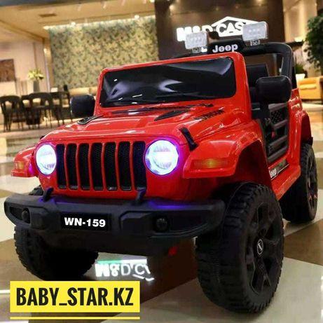 Детская машинка электромобиль JEEP WN-159!Детский машинки.+Доставка!!!