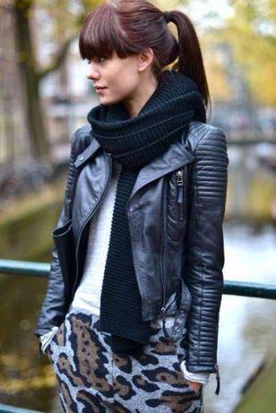Налично! Дамско кожено яке по модел на Zara р-р S/M/L