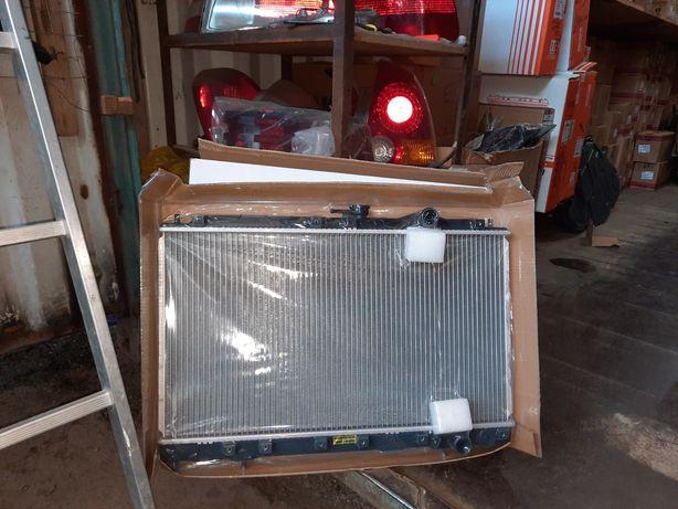 Радиаторы на Mitsubishi Galant механика