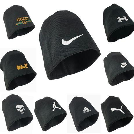 Gucci/Nike 15 модела на Мъжка Зимна шапка много топла и стегната!!!