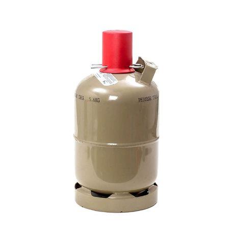 5 кг. газова бутилка за битова газ с ъглов кран