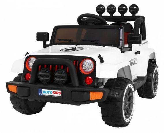 Masinuta electrica pentru copii FULL TIME 4WD (7588) 4x4, Alb