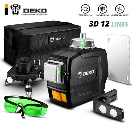 Лазерен нивелир DEKO 3D