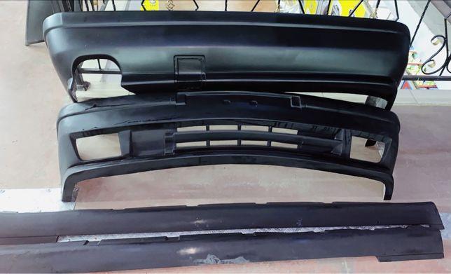 BMW E34 полный комплект, накладки, спойлер, козырёк, бленда