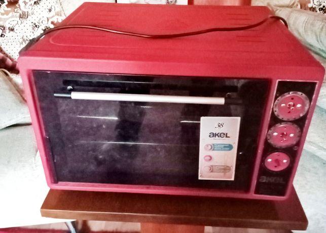 Электро печь Акел размер 38 на запчасти. Рабочем состоянии.