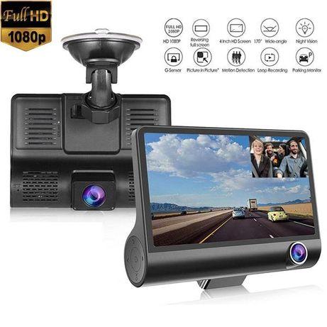 Видеорегистратор с три камери FULL HD 1080P