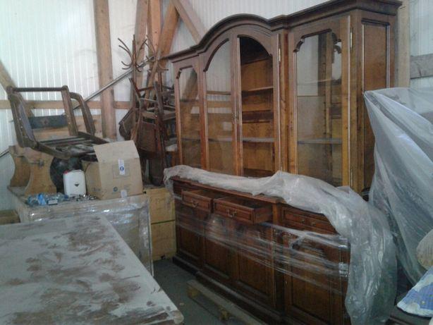 Mobila sufragerie rustic( masiv)