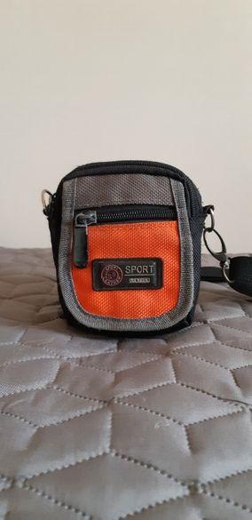 Чантичка за през врата Мъжка/Дамска/Детска Sport Leather