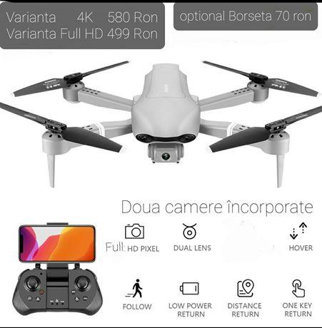 Drona 4K 2 camere,mar 42 cm,distanta 200-250 m,Zbor 25 minute,pliabilă