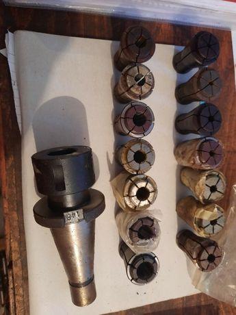 Цангов патроник ИСО50 със цанги