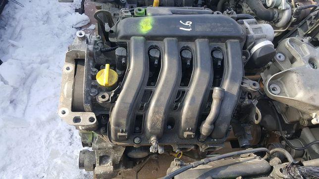 Motor Renault Dacia Nissan 1.6 benzina
