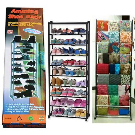 Etajera suport pentru incaltaminte Amazing Shoe Rack cu 10 rafturi