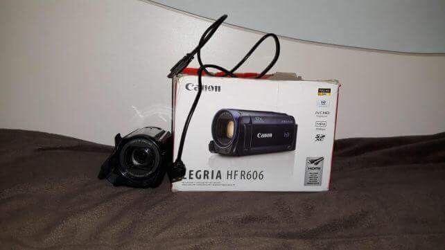 Camera video foto Canon Legria HF R 606