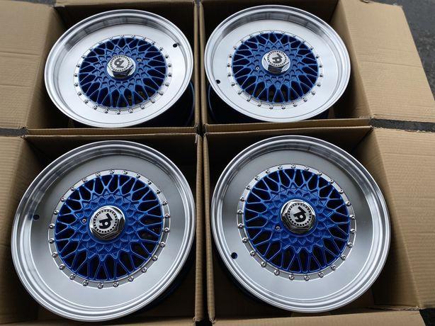 set jante noi SEVENTY BLUE 4x100 R16 Dacia Renault Mini