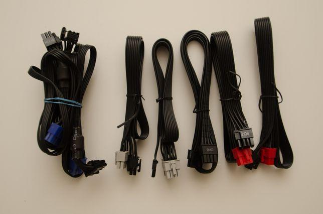 Cabluri sursa modulara Corsair (si altele), PCI-E, CPU, SATA - type4/3