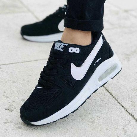 Adidasi Unisex Nike AirMax Black & White #3 Perne!