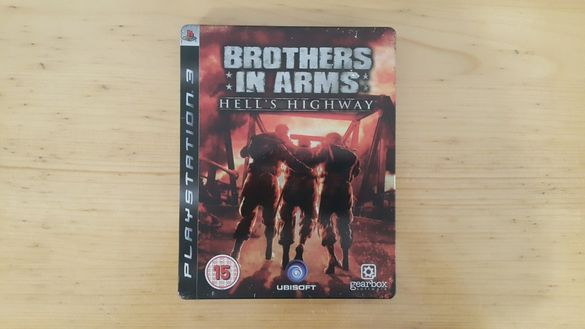 Brothers In Arms Hells Highway Steelbook Edition за PlayStation 3 PS3