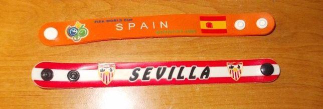 Bratari/Snur Fotbal Spania si Sevilia Barcelona Lazio AC Milan