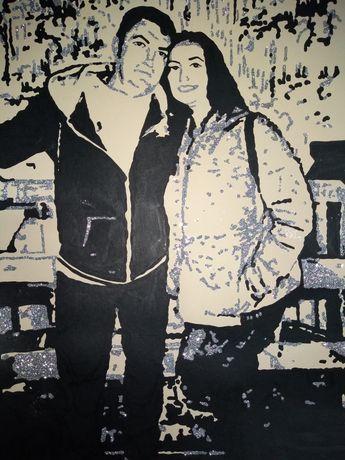 Portrete cuplu Amintire